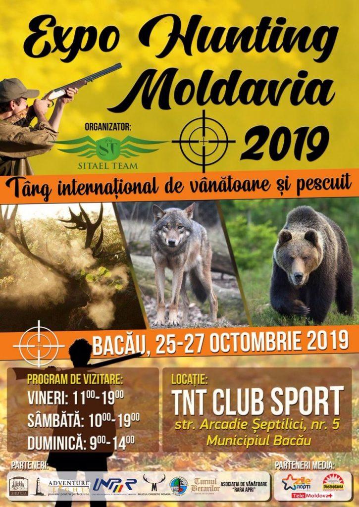 """Expo """"Hunting Moldavia 2019"""", Târg Internațional de Vânătoare și Pescuit, cu vânzare"""