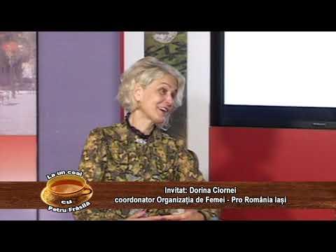LA UN CEAI CU PETRU FRASILA – DORINA CIORNEI, PRO ROMANIA