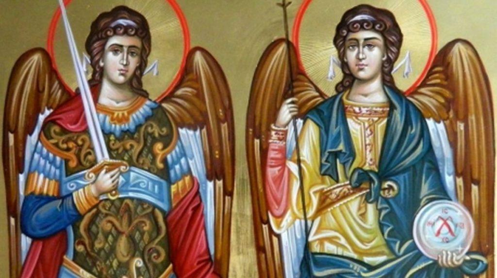 Sfinţii Mihail şi Gavriil, păzitorii oamenilor de la naştere şi până la moarte